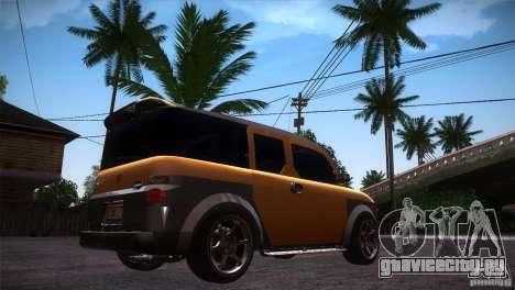 Honda Element LX для GTA San Andreas вид справа