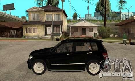 Mercedes Benz GLK300 для GTA San Andreas вид слева