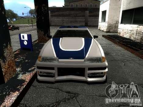 Винил с BMW M3 GTR в Most Wanted для GTA San Andreas вид справа