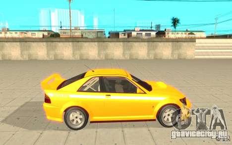 Sultan RS из GTA 4 для GTA San Andreas вид слева