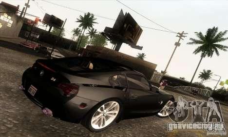 BMW Z4M для GTA San Andreas