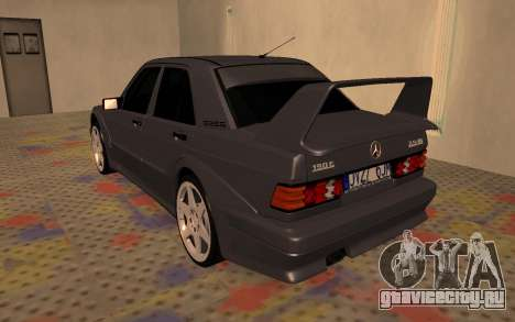 Mercedes-Benz 190E Evolution II 2.5 1990 для GTA San Andreas вид справа