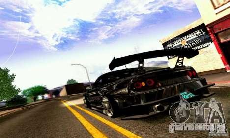 Nissan 180SX Gkon - Drift chrome для GTA San Andreas