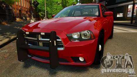 Dodge Charger RT Max FBI 2011 [ELS] для GTA 4