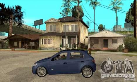 Volkswagen Gol Trend 1.6 для GTA San Andreas вид слева