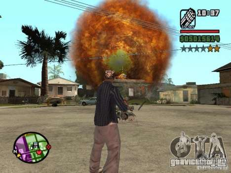 Overdose effects V1.3 для GTA San Andreas