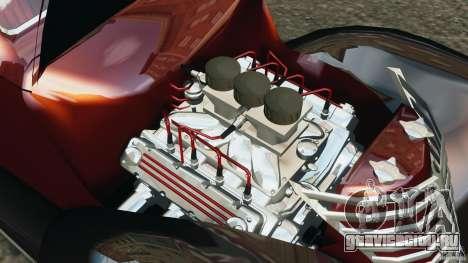 Walter Street Rod Custom Coupe для GTA 4 вид изнутри