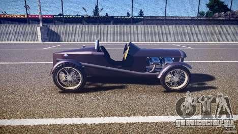 Vintage race car для GTA 4 вид изнутри