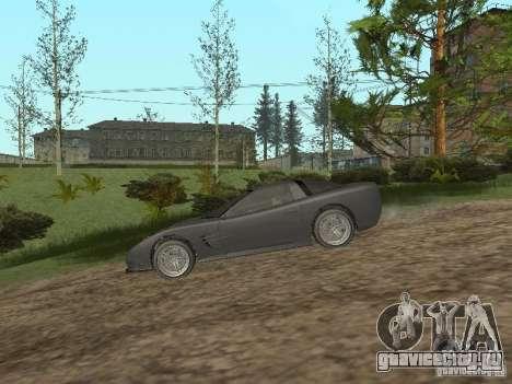 Cheetah из ГТА 4 для GTA San Andreas вид сзади слева