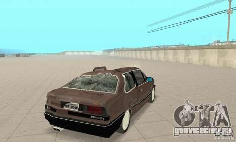 Volkswagen Santana GLS 1989 для GTA San Andreas вид сверху