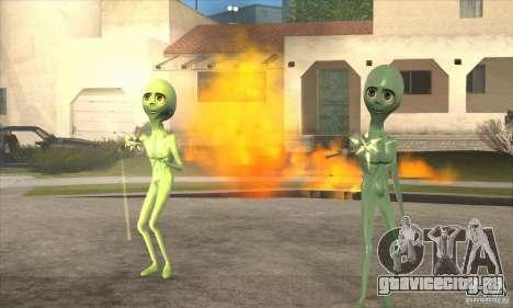 Alien для GTA San Andreas пятый скриншот