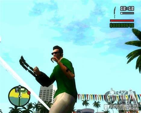 Когти Хищника для GTA San Andreas третий скриншот