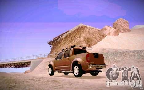 Nissan Fronter для GTA San Andreas вид справа