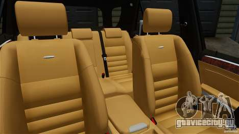 Mercedes-Benz ML63 AMG для GTA 4 вид изнутри