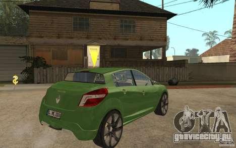 Renault Megane III для GTA San Andreas