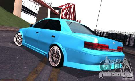 Toyota Mark II Tuning для GTA San Andreas вид слева