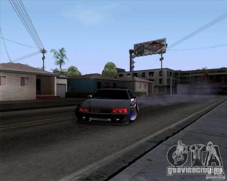 Toyota Chaser jzx100 Drift Police для GTA San Andreas вид справа