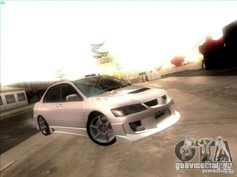 Mitsubishi Lancer для GTA San Andreas