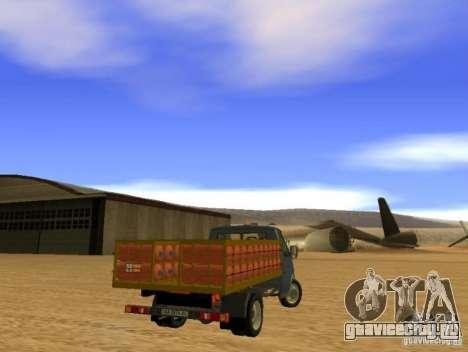 ГАЗель 3302 для GTA San Andreas вид справа