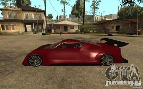 Seat Cupra GT для GTA San Andreas вид слева