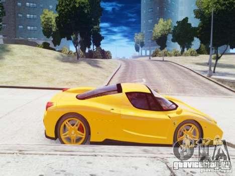 Ferrari Enzo 2002 для GTA 4 вид слева