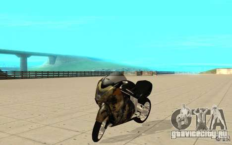 GTAIV TLAD Hakuchou Custom Version-With Custom Paitjob для GTA San Andreas