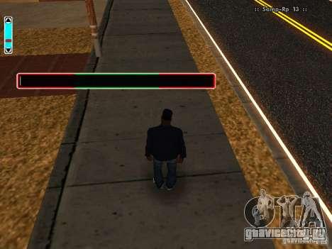 Новый интерфейс для SAMP для GTA San Andreas третий скриншот