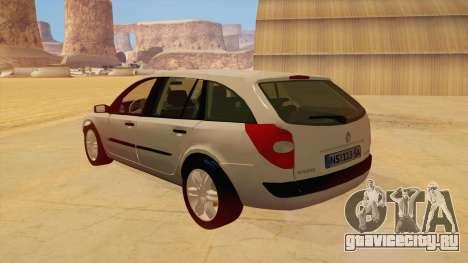Renault Laguna II для GTA San Andreas вид справа