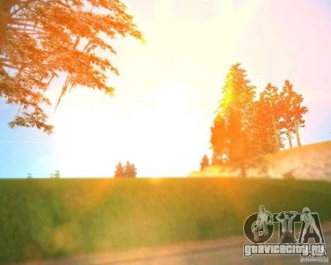 Real World ENBSeries v3.0 для GTA San Andreas второй скриншот