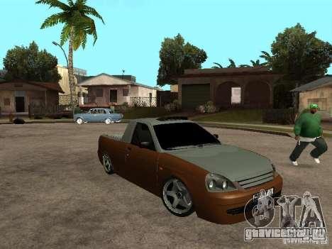 ВАЗ 2170 Пикап для GTA San Andreas