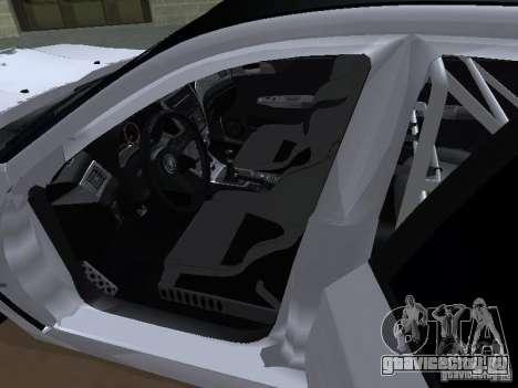 Subaru Impreza STI hellaflush для GTA San Andreas вид сбоку