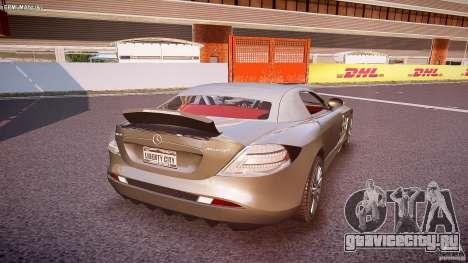 Mercedes Benz SLR McLaren 722s 2005 [EPM] для GTA 4