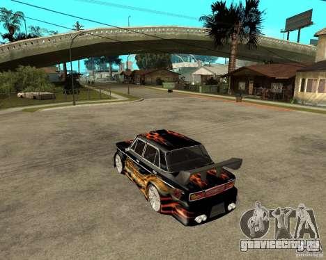 ВАЗ 2106 GTX tune для GTA San Andreas вид сзади слева