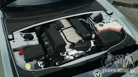 Dodge Challenger SRT8 2009 [EPM] для GTA 4 вид сверху