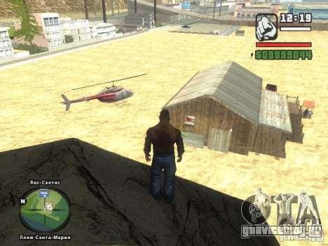 Новый Бар на пляже Верона для GTA San Andreas второй скриншот