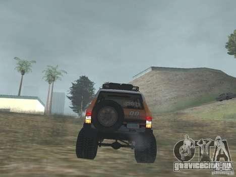 Tornalo 2209SX 4x4 для GTA San Andreas вид сзади