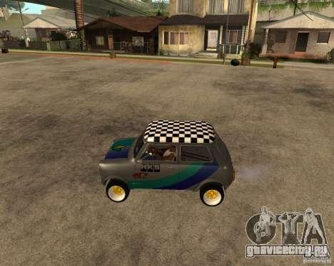 Mini Cooper для GTA San Andreas вид слева