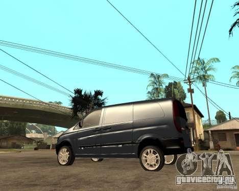 Mercedes-Benz Vito 2009 для GTA San Andreas вид слева