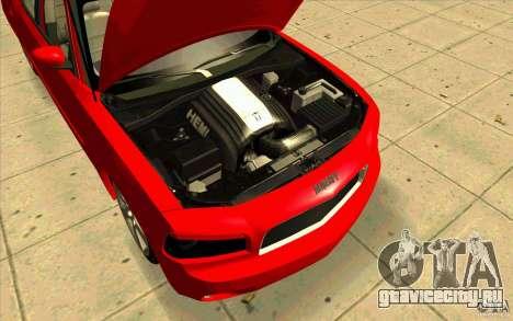 Dodge Charger RT 2010 для GTA San Andreas вид справа