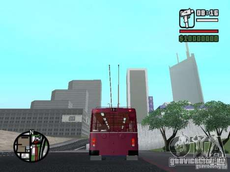 ЗИУ 682ГМ1 для GTA San Andreas вид сзади слева
