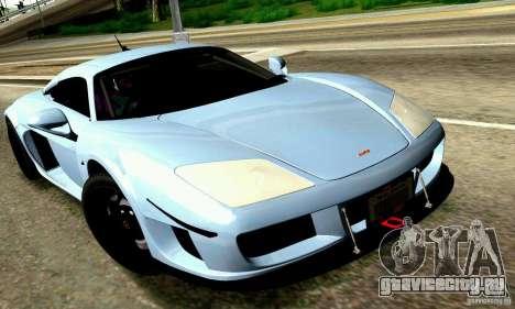 Noble M600 для GTA San Andreas двигатель