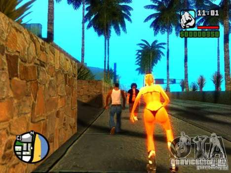 Текстуры района Восточный пляж для GTA San Andreas шестой скриншот