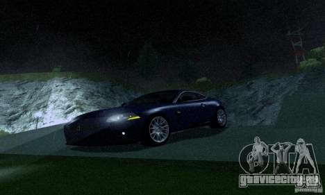 Jaguar XKRS для GTA San Andreas вид слева