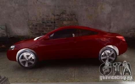 Pontiac G6 для GTA 4 вид слева