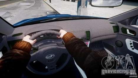 Subaru Legacy B4 GT для GTA 4 вид снизу