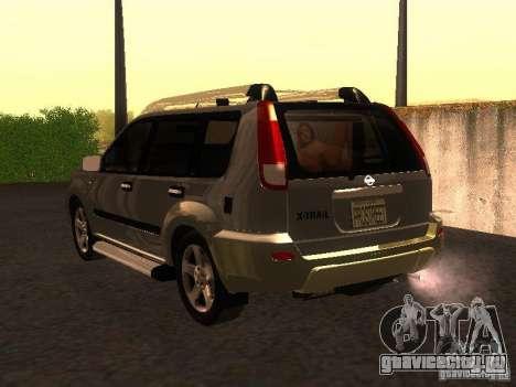 Nissan X-Trail для GTA San Andreas вид слева