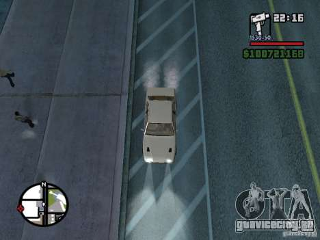 Maserati Ghibli для GTA San Andreas вид справа