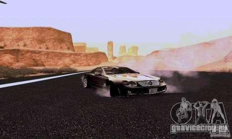 Mercedes-Benz SL65 для GTA San Andreas вид сзади