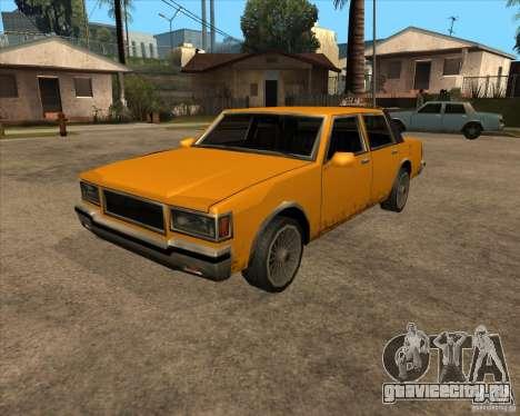 New Greenwood для GTA San Andreas вид сзади слева