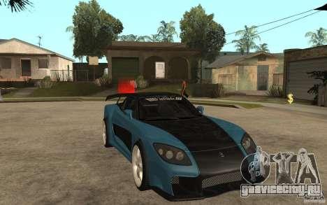 Mazda RX 7 VeilSide для GTA San Andreas вид сзади слева